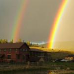 rainbows over lodge